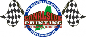 image of automotive logo created by canalside printing bourne cape cod ma